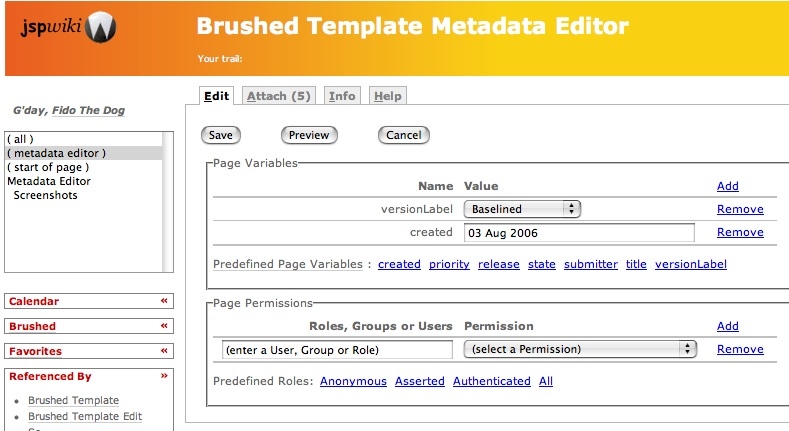 how to change the metadata in bridge